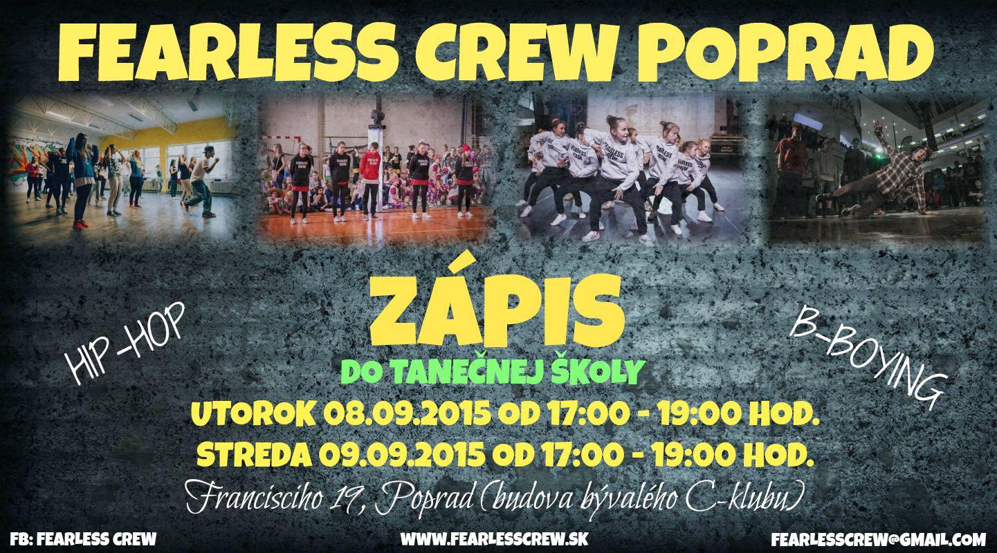 2015-2016 ZáPIS FEARLESS